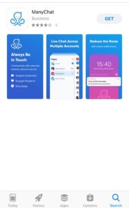 manychat mobile app